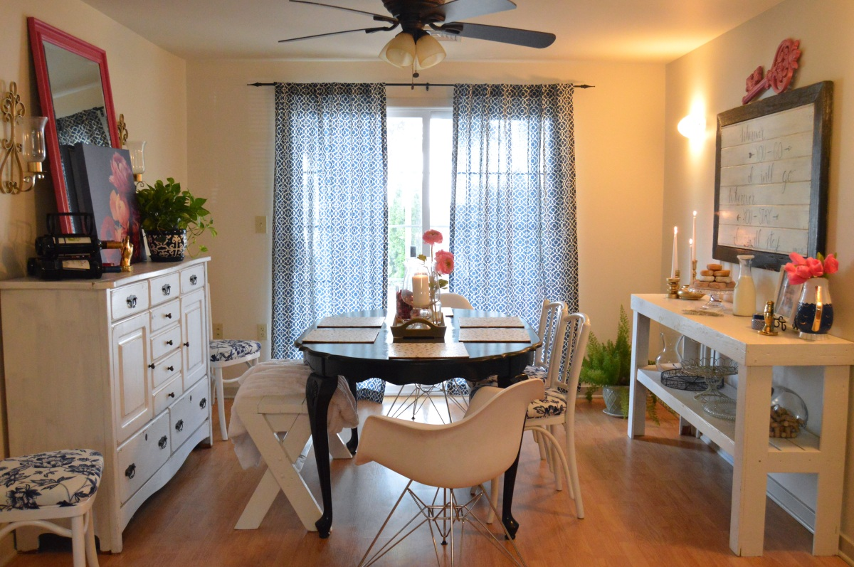 A Fun, Eclectic Dining Room