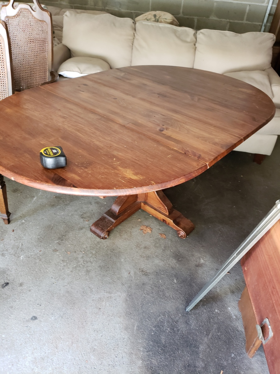 I'm Working On A New Dining Table