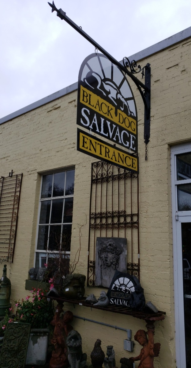 My Black Dog Salvage Experience