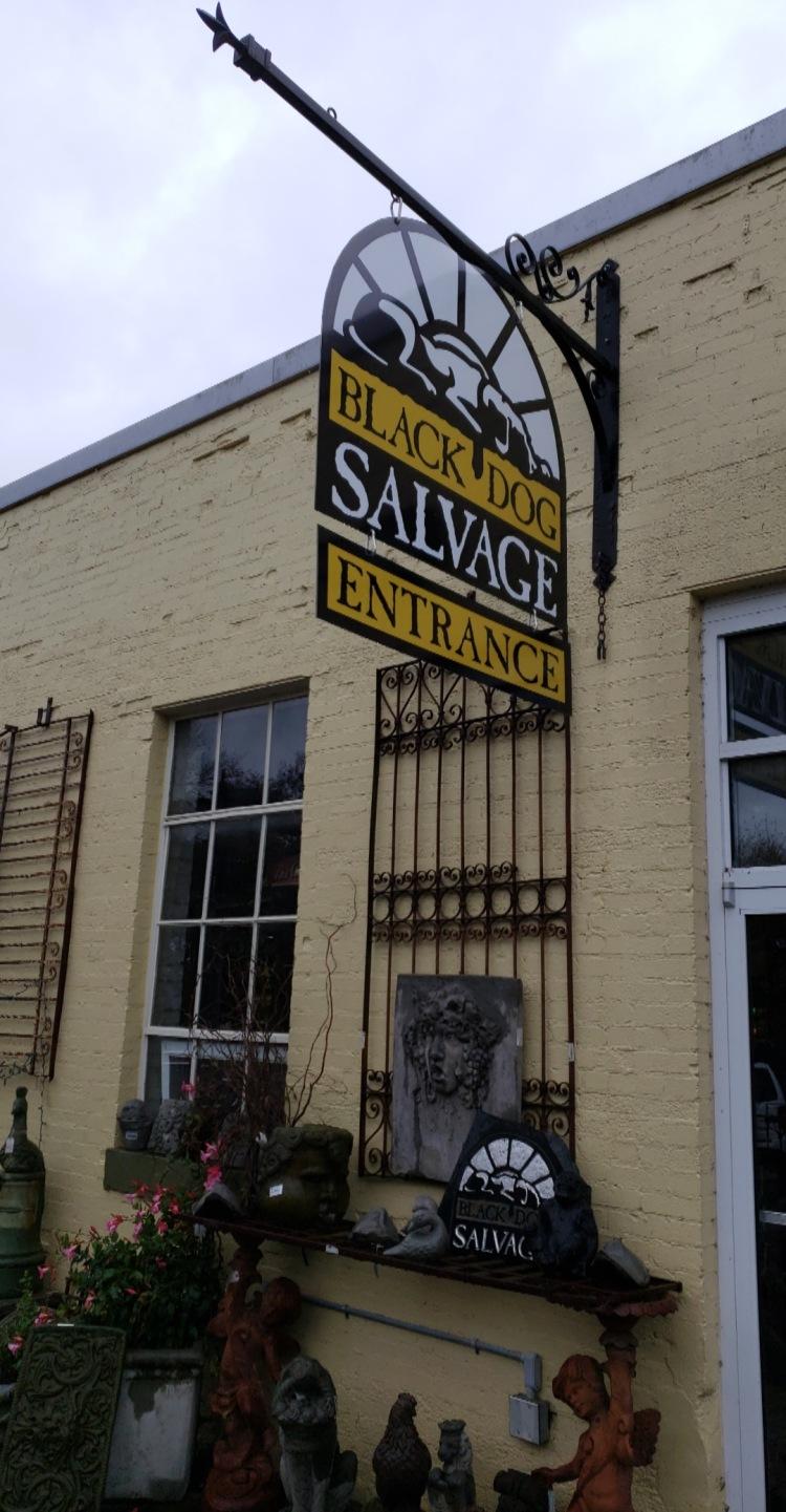 black dog salvage address